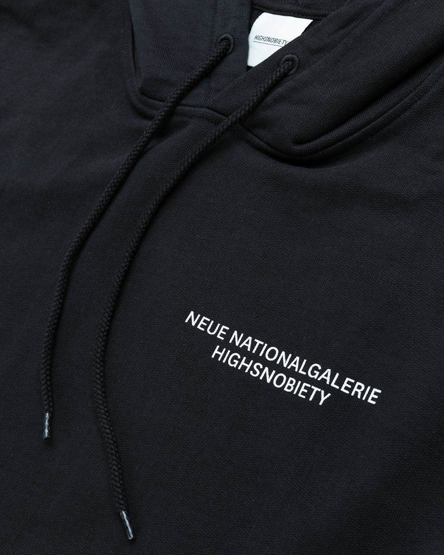 Highsnobiety x Neue National Galerie – Hoodie Black - Image 7