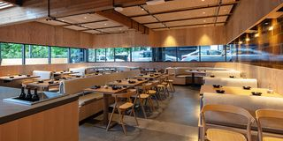 Local Produce + Bamboo Interiors + Jawnz = Snow Peak's Immaculate First Restaurant