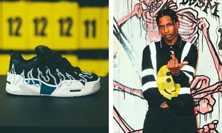 A$AP Rocky Taps Dave Mayhew for Under Armour Sneaker
