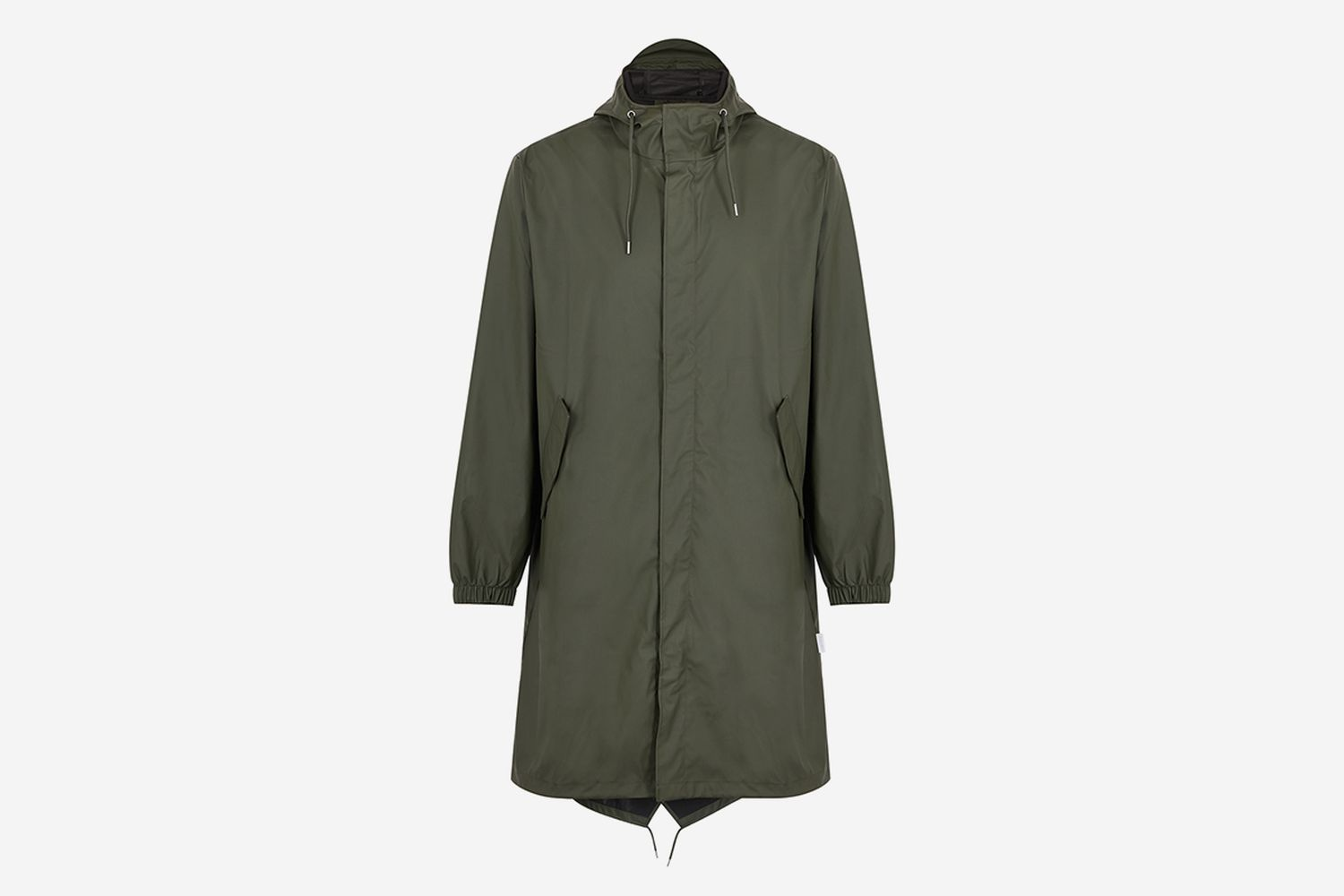 Fishtail Rubberised Raincoat