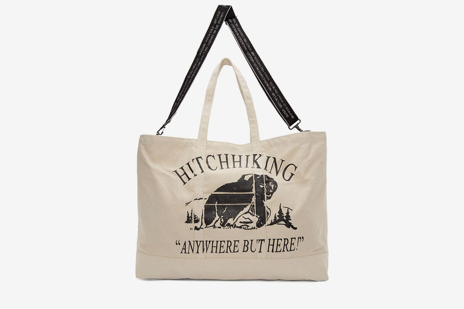 SSENSE Exclusive Hitchhiking Tote