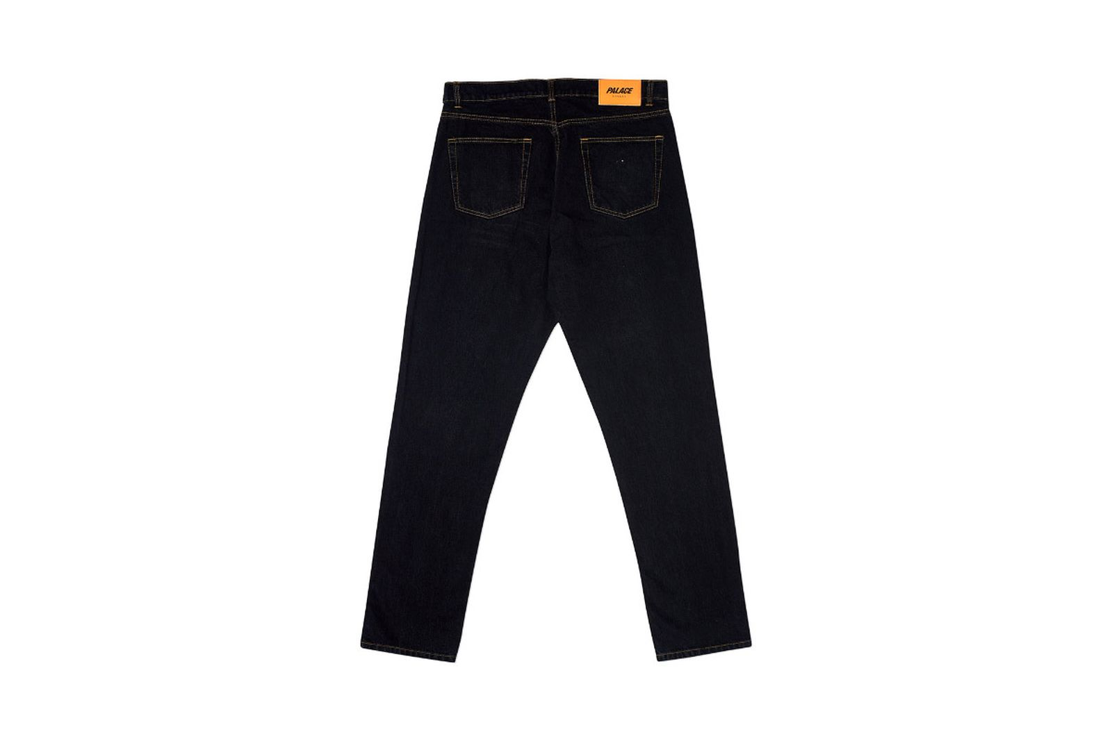 Palace 2019 Autumn Jeans Stonewash Black Back3027 fw19
