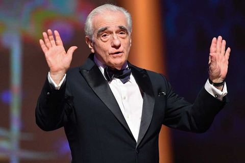 Martin Scorsese attends the tribute to Robert De Niro during the 17th Marrakech International Film Festival