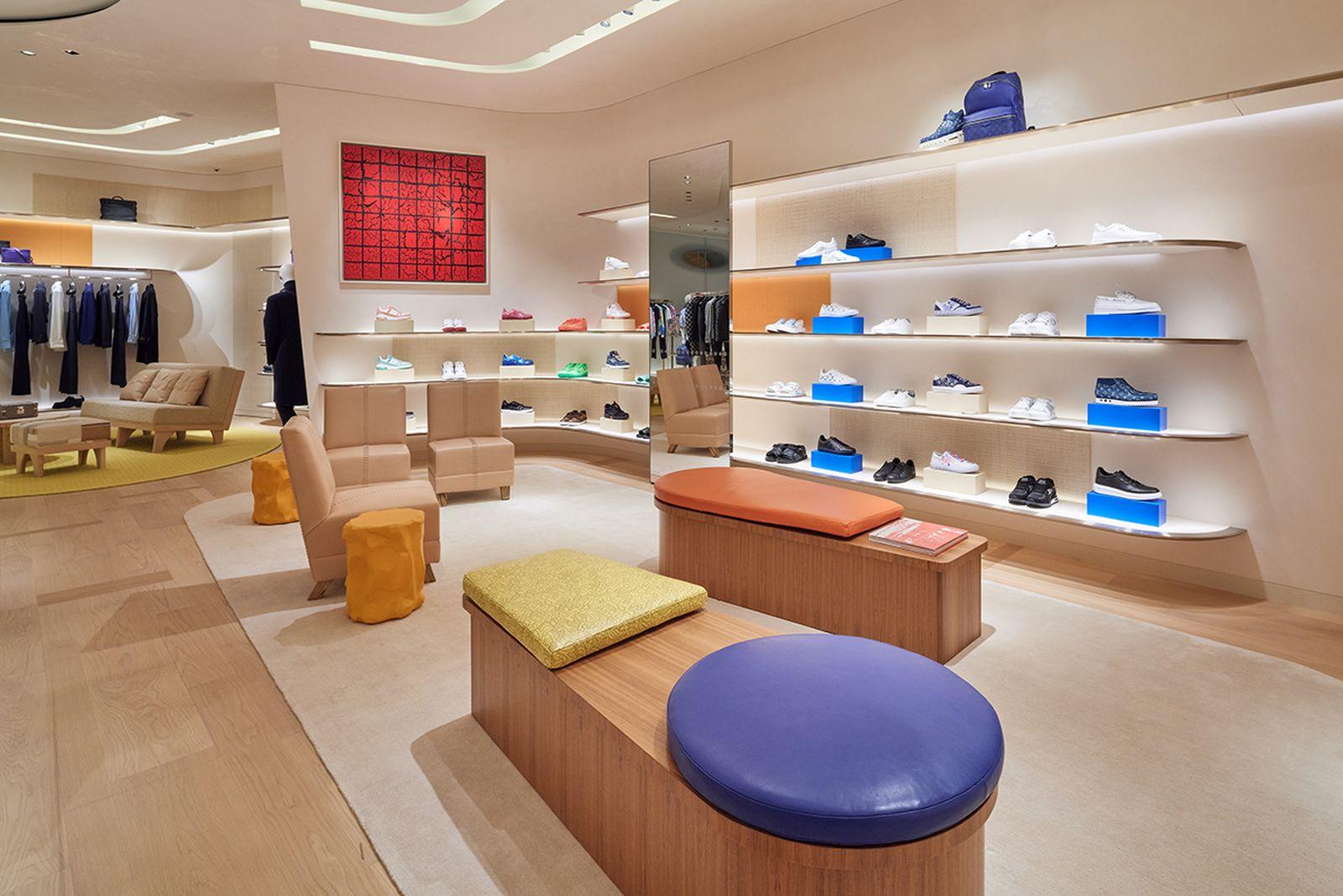 Louis Vuitton Tokyo store interior