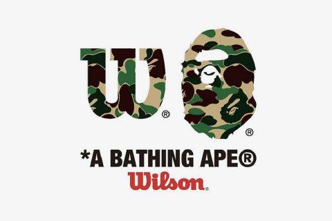 bape wilson ciollab A Bathing Ape Wilson Tennis