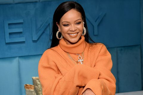 Rihanna the launch of FENTY at Bergdorf Goodman