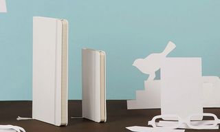 Moleskine Releases White Notebooks