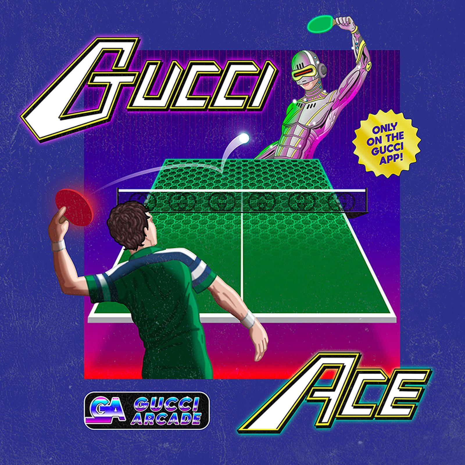 gucci arcade games