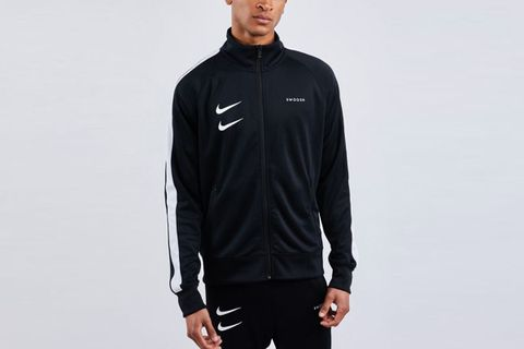 Swoosh Poly Jacket