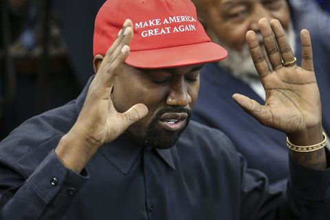 kanye west donald trump meeting twitter reactions