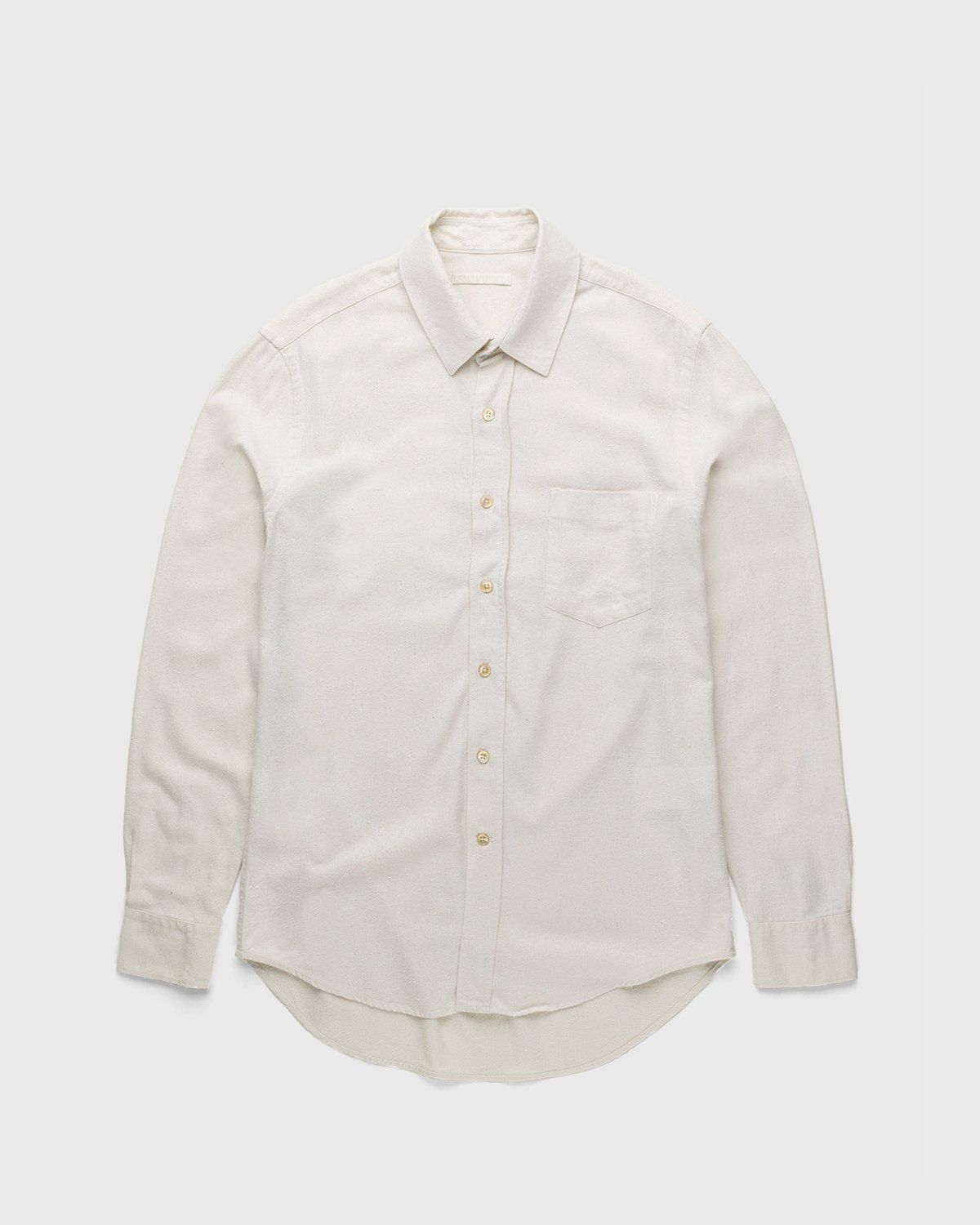 Our Legacy – Classic Shirt White Silk - Image 1
