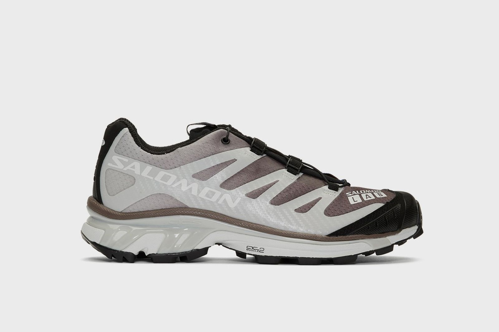 Salomon sneakers purple and grey
