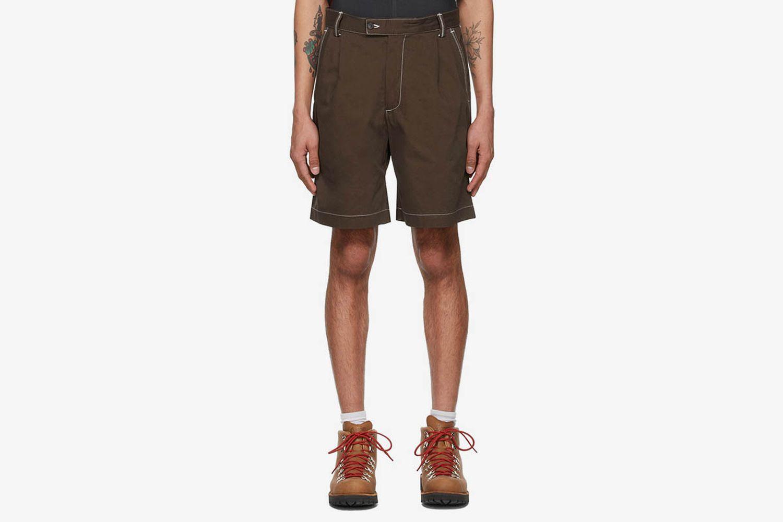 Twill Dad Shorts
