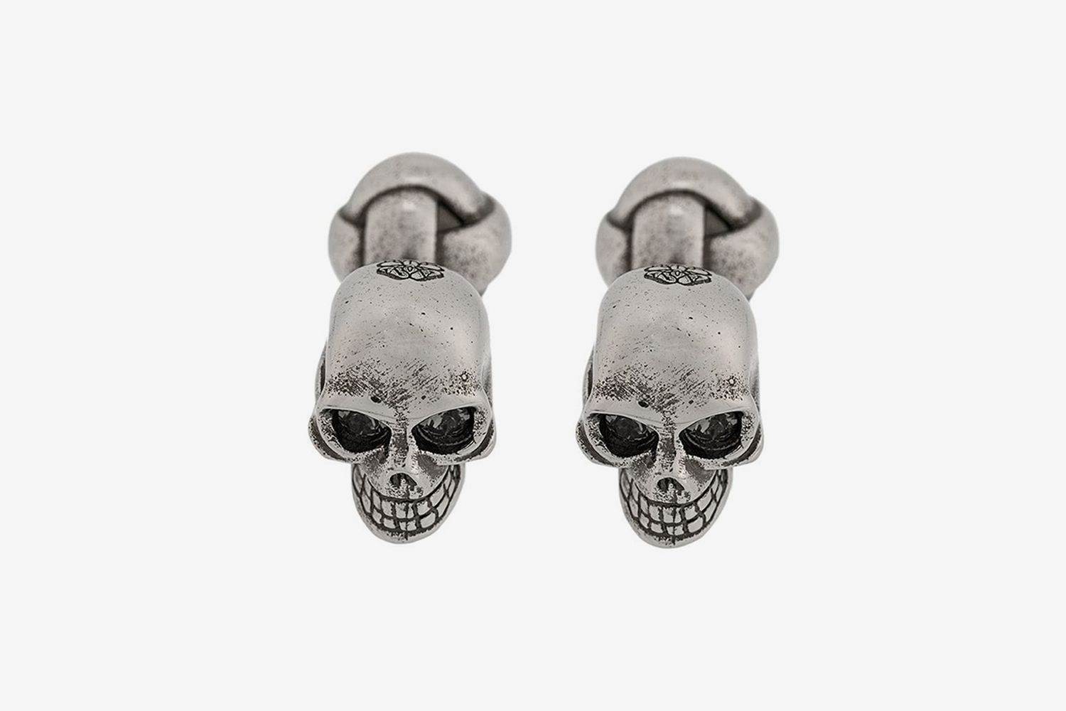 Engraved Skull Cufflinks