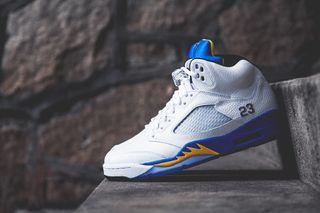 "hot sale online 5dd78 d9890 1 more. Previous Next. Celebrating Michael Jordan s high school, Jordan  Brand presents the Air Jordan 5 Retro "" ..."