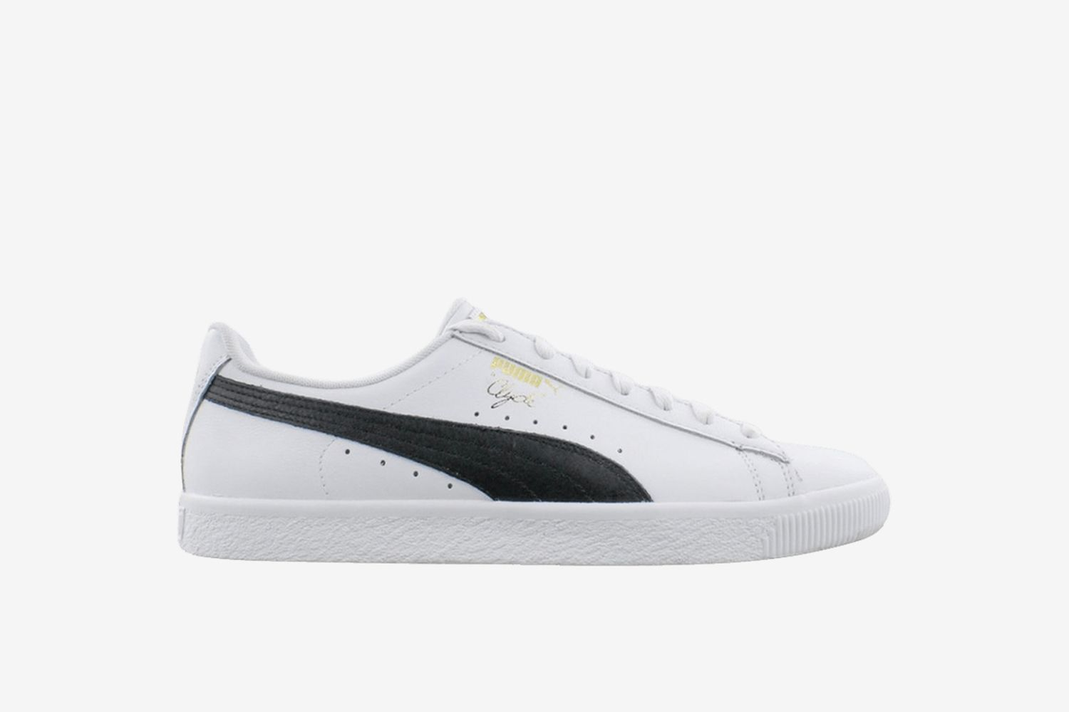 Clyde Core Leather Foil 'White'