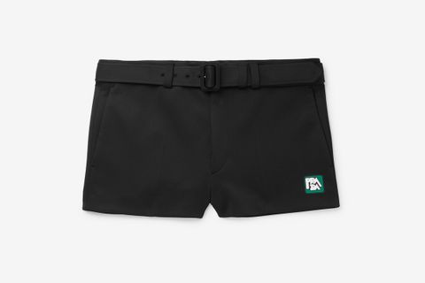 Slim-Fit Neoprene Shorts