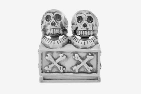 Booze Dual Skull Incense Chamber