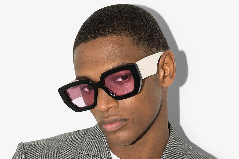 Oversized Angular Sunglasses