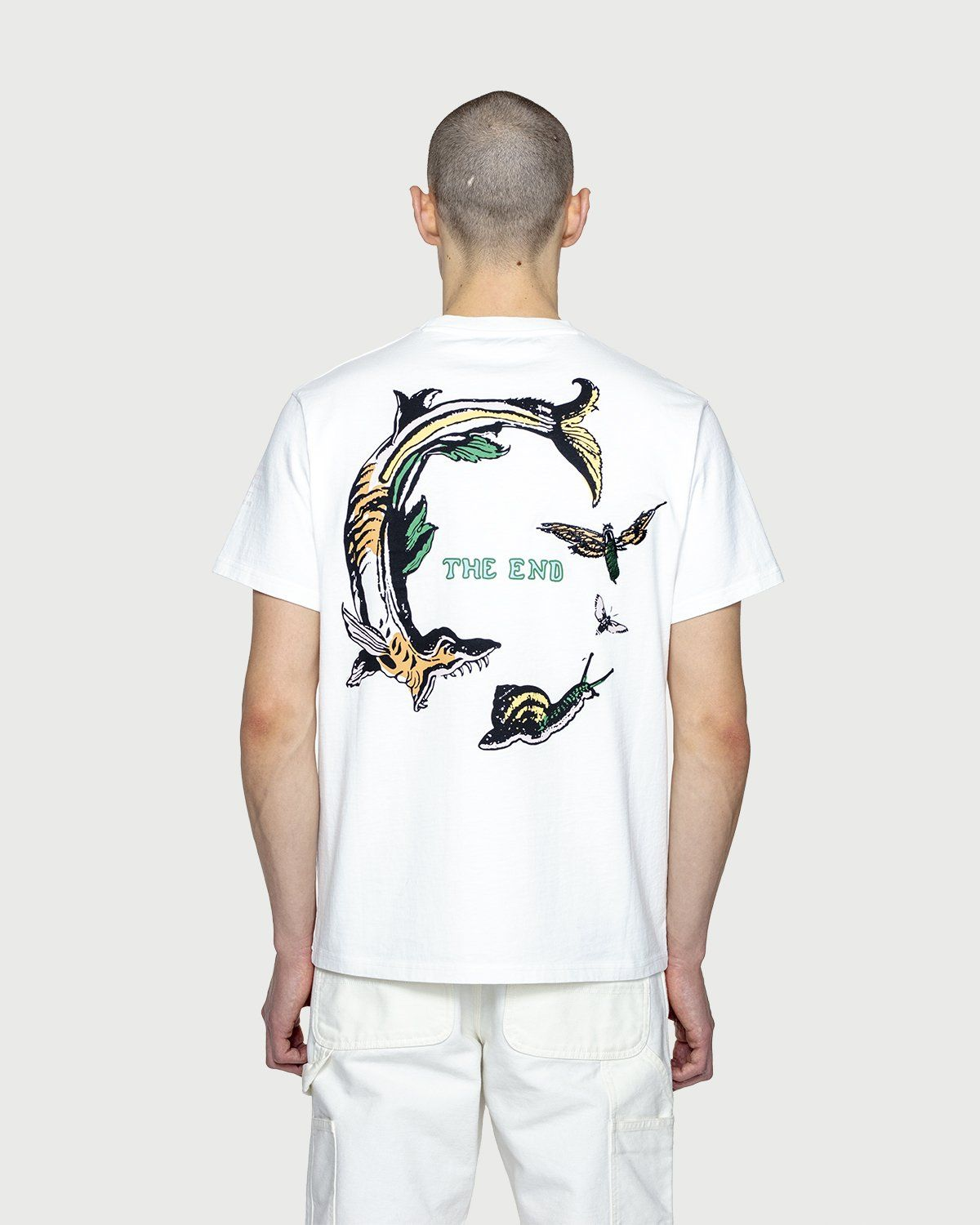 Inner Life by Highsnobiety - The End T-Shirt White - Image 8