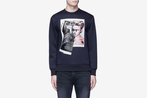 Brad Bieber Hybrid Print Sweatshirt