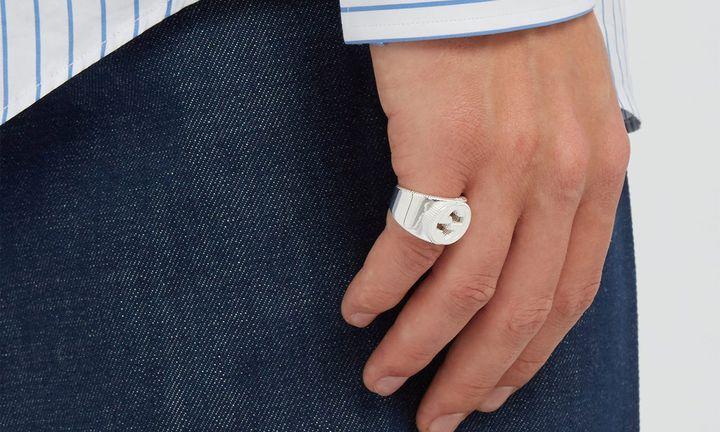 men's silver jewelry