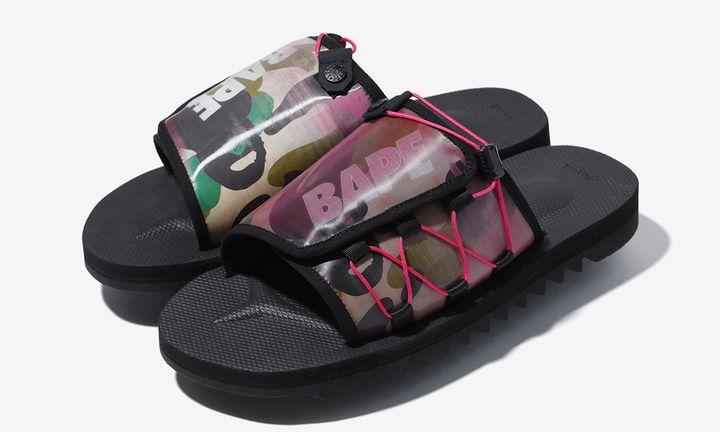BAPE x Suicoke ss20 sandals