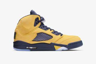 free shipping 11251 5e976 Nike Air Jordan 5 Michigan: Official Release Information