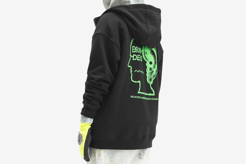 Half Zip Hooded Sweatshirt
