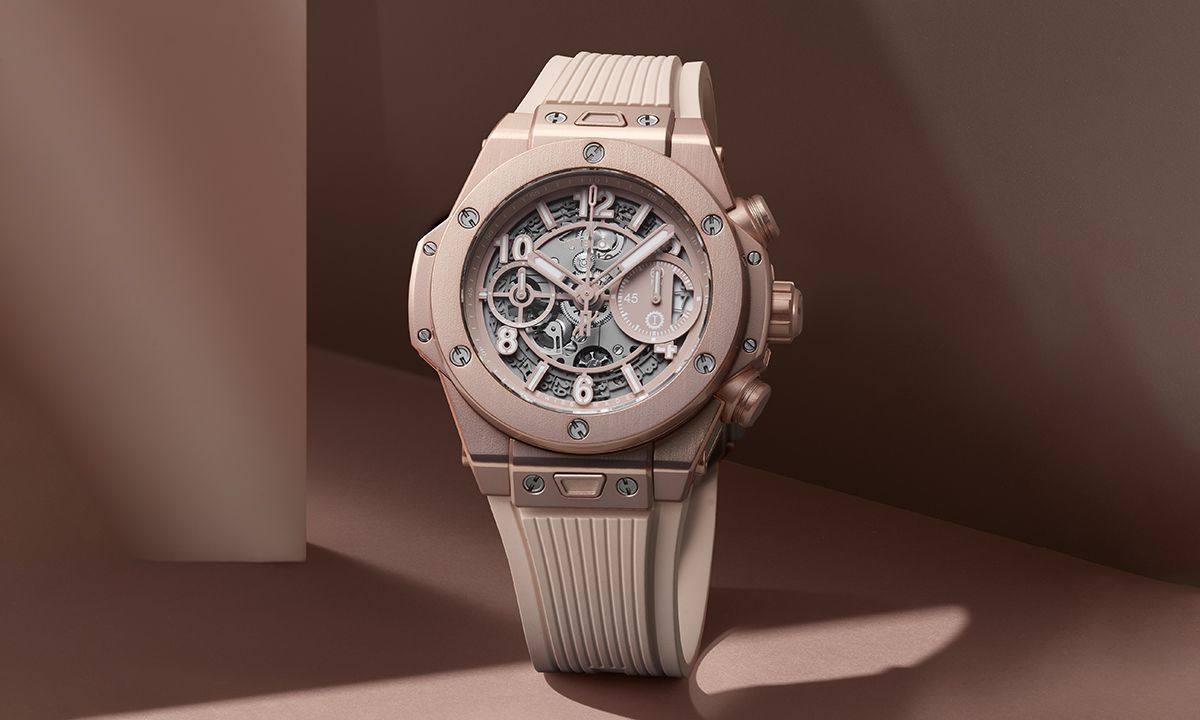 "Hublot Debuts New Big Bang Watch ""Millennial Pink"""
