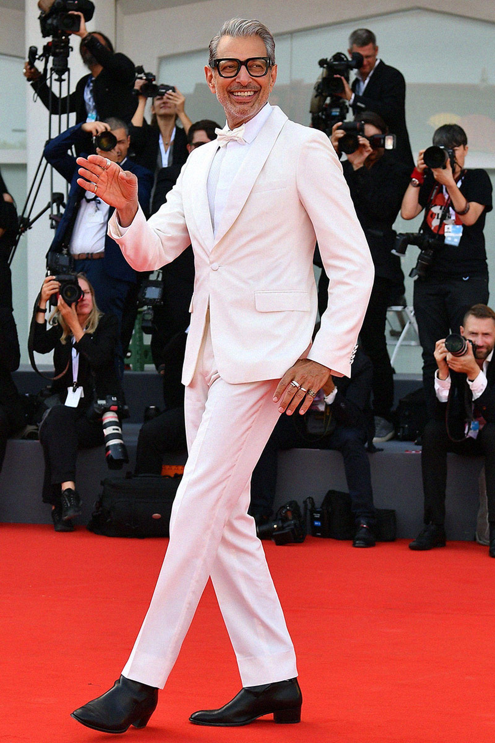 happy birthday jeff goldblum unrivalled style icon Calvin Klein Raf Simons isabel marant
