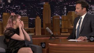 maisie williams game thrones spoiler prank The Tonight Show Starring Jimmy Fallon game of thrones