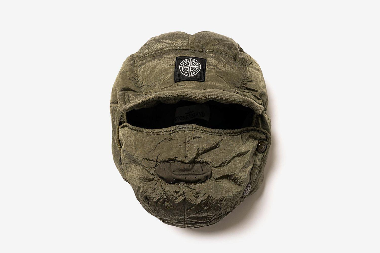 Nylon Metal Watro Ripstop Face Shield Cap