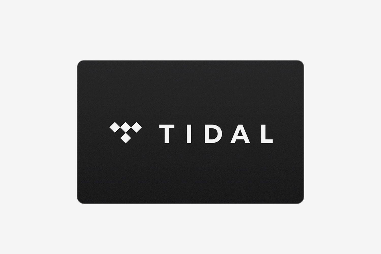 TIDAL Gift Card