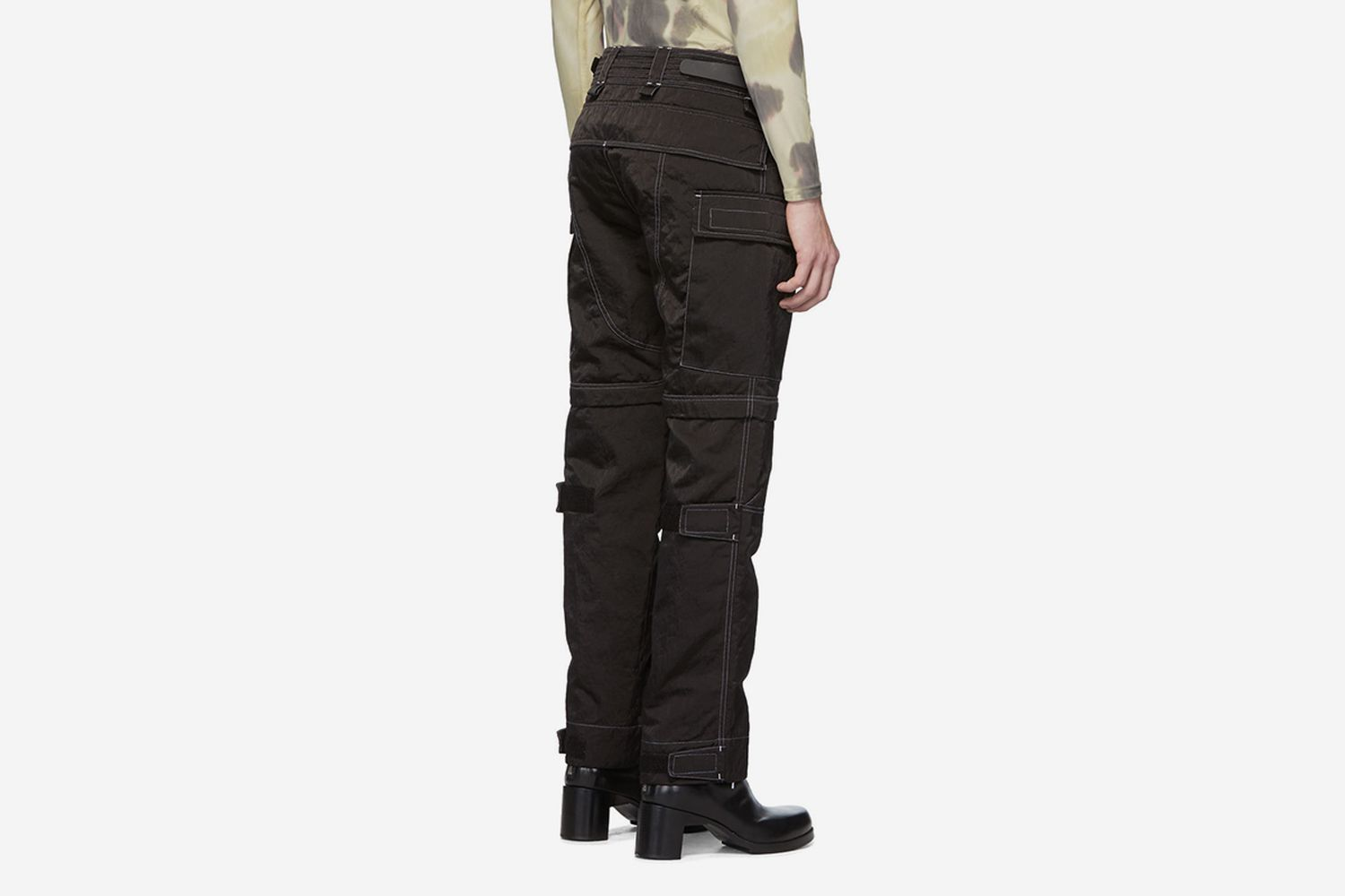 Black Zip-Off Tactical Trousers