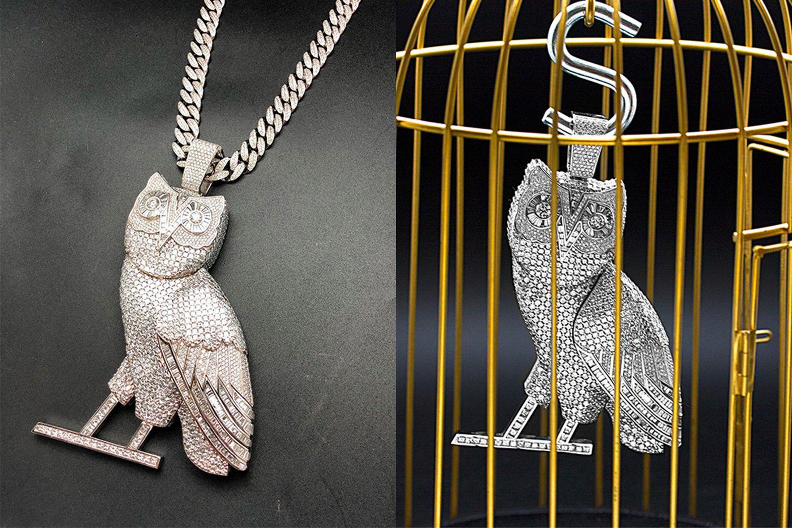 drake ovo owl chain jeweler main2 A$AP Rocky Jason Arasheben Jason of Beverly Hills