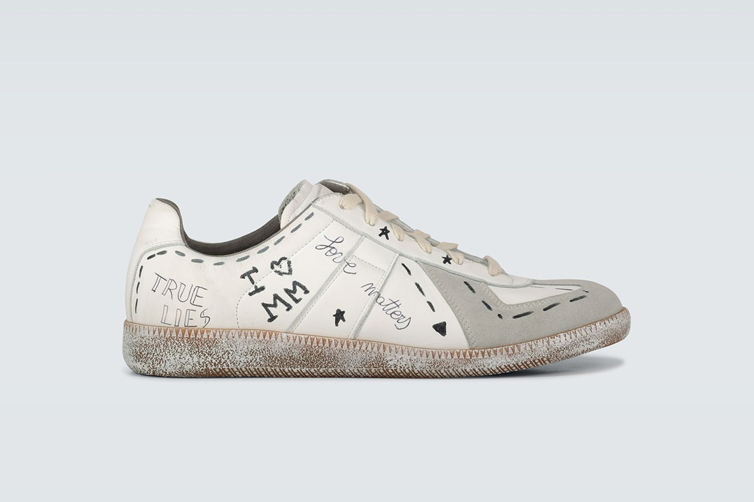 Exclusive to Mytheresa Vintage Graffiti Replica Sneakers