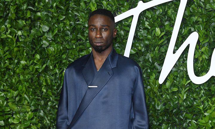 Kojey Radical at the Fashion Awards