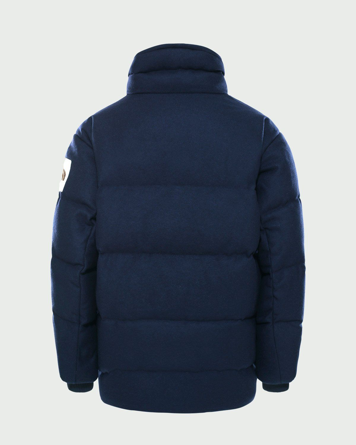 The North Face Brown Label - Larkspur Wool Down Jacket Navy Women - Image 2