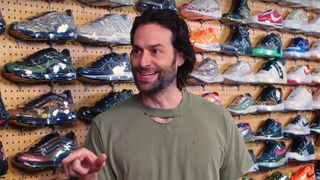 chris delia sneaker shopping Chris D'Elia kanye west