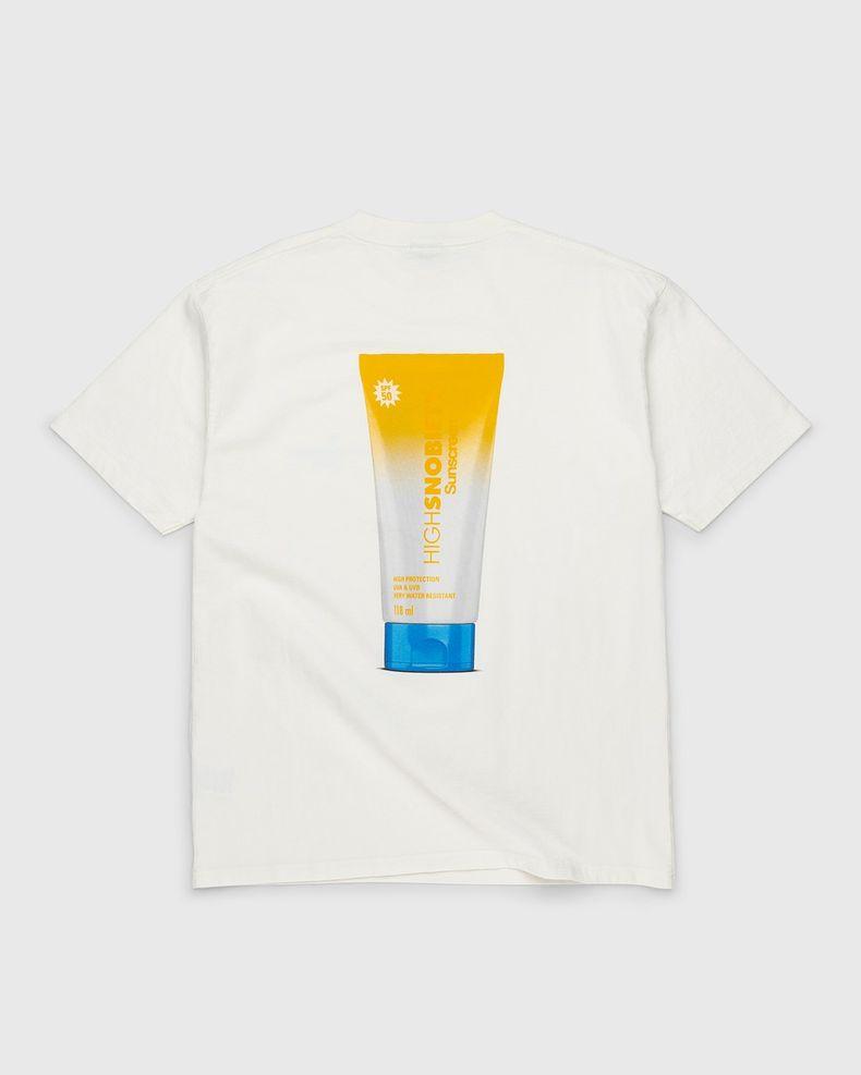 Highsnobiety – Sunscreen T-Shirt White