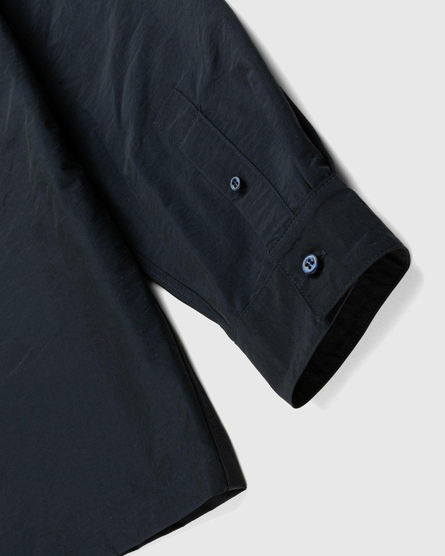 A-COLD-WALL* – Cuban Collar Shirt Navy - Image 3