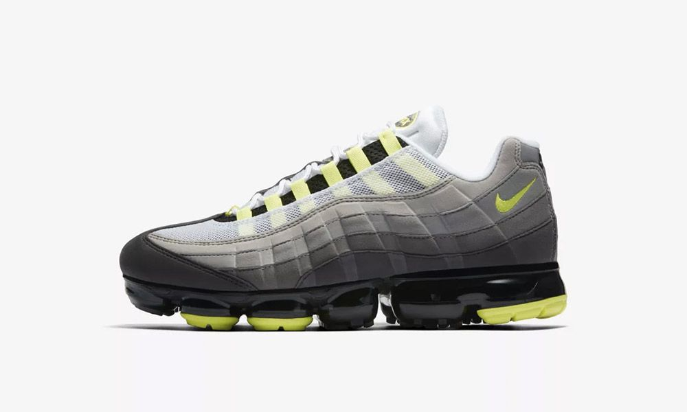 "d92adc78673 Nike Air VaporMax 95 ""Volt""  Release Date"