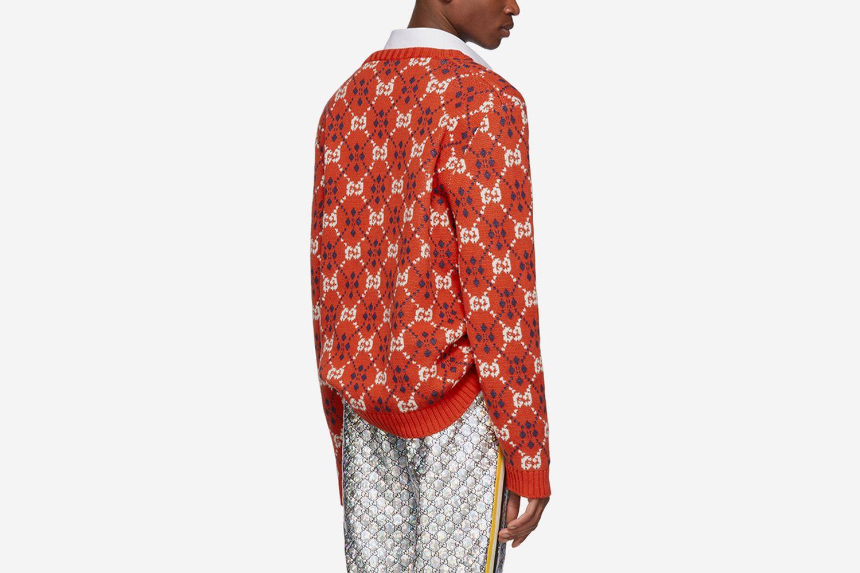 GG V-Neck Sweater