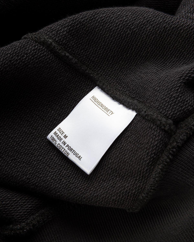 Highsnobiety – Logo Hoodie Black - Image 6