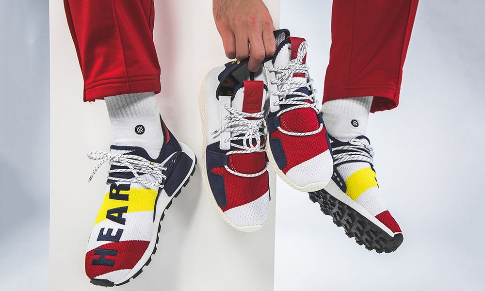 5b4386d0db0c8 BBC x Pharrell Williams adidas Originals NMD Hu  Release Info