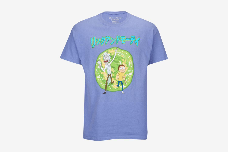 Rick And Morty Kanji S/S T-Shirt