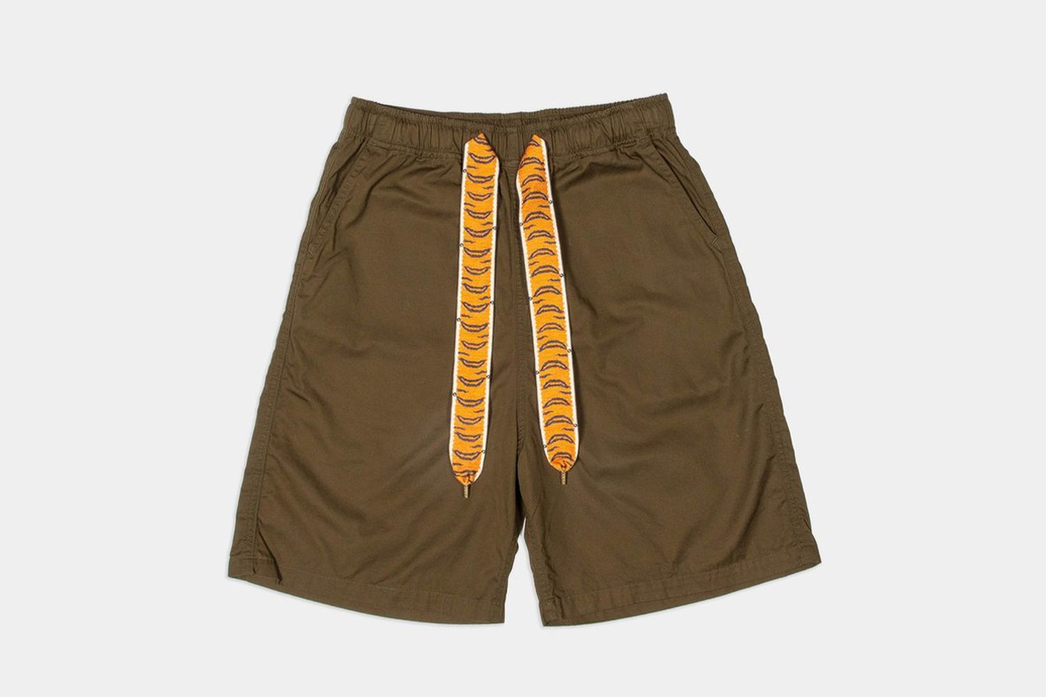 Combed Burberry Easy Shorts