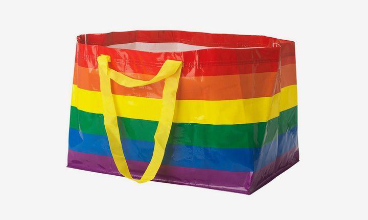IKEA rainbow FRAKTA bag