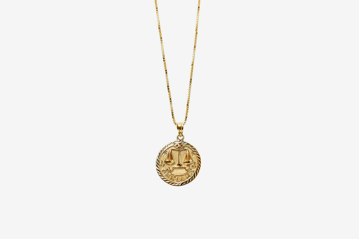 Justice Gold Pendant